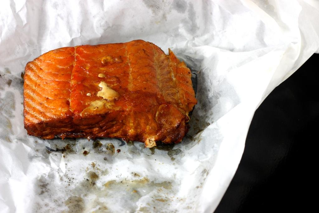 Sandwich mit gezupftem Lachs1