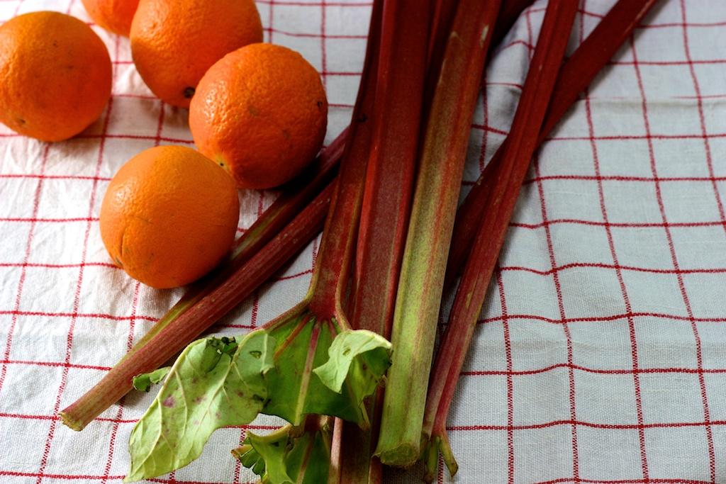 Rhabarber-Orangen-Marmelade 1
