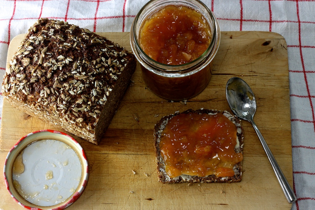 Rhabarber-Orangen-Marmelade 5