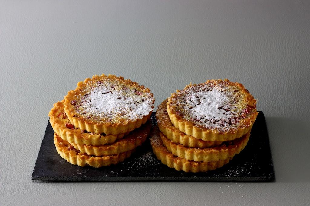 Rhabarber- Tartelettes1
