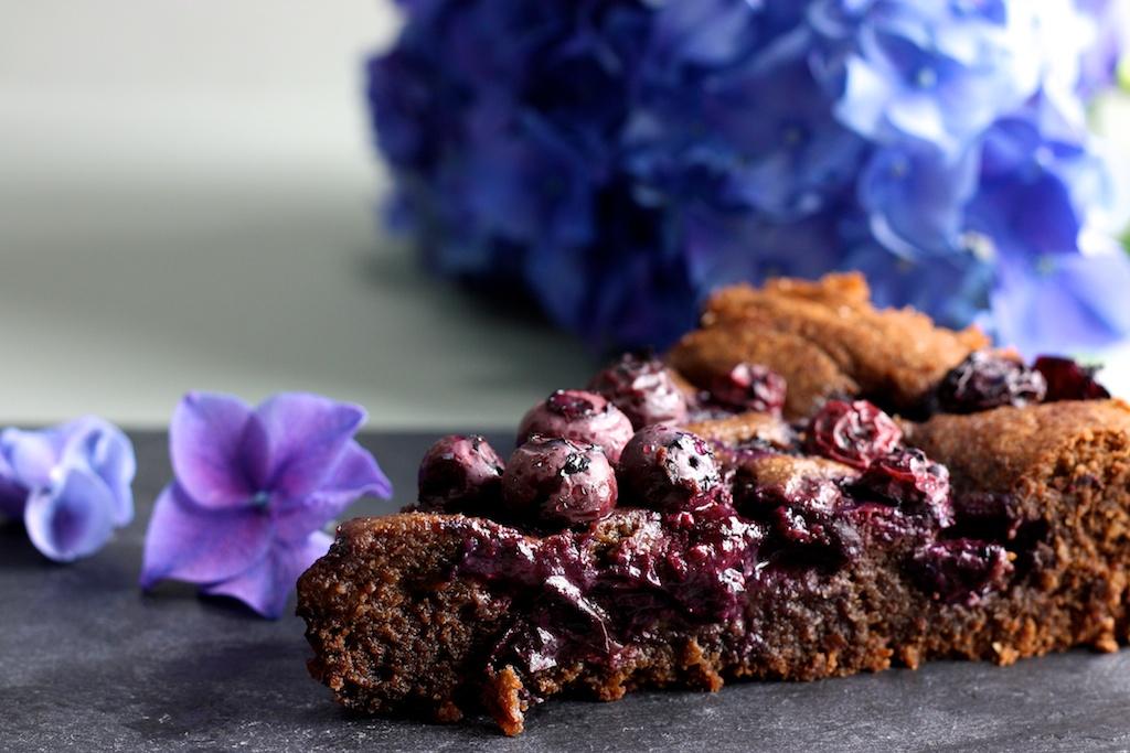 Schokoladen-Heidelbeer-Kuchen (1)