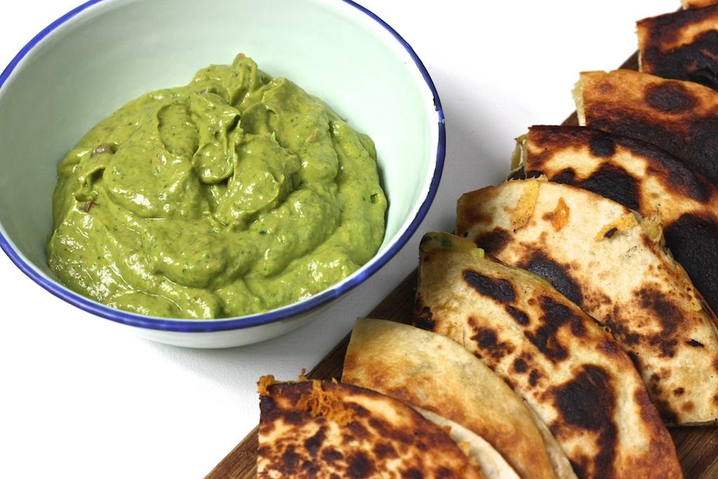 Quesadillas mit Guacamole1