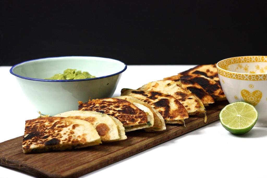 Quesadillas mit Guacamole2