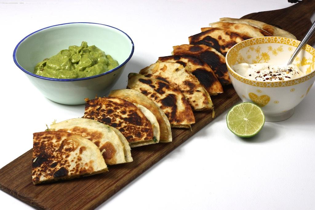 Quesadillas mit Guacamole3