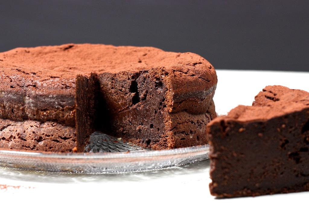 Schokoladen-Masala-Kuchen mit Espresso-Sirup2