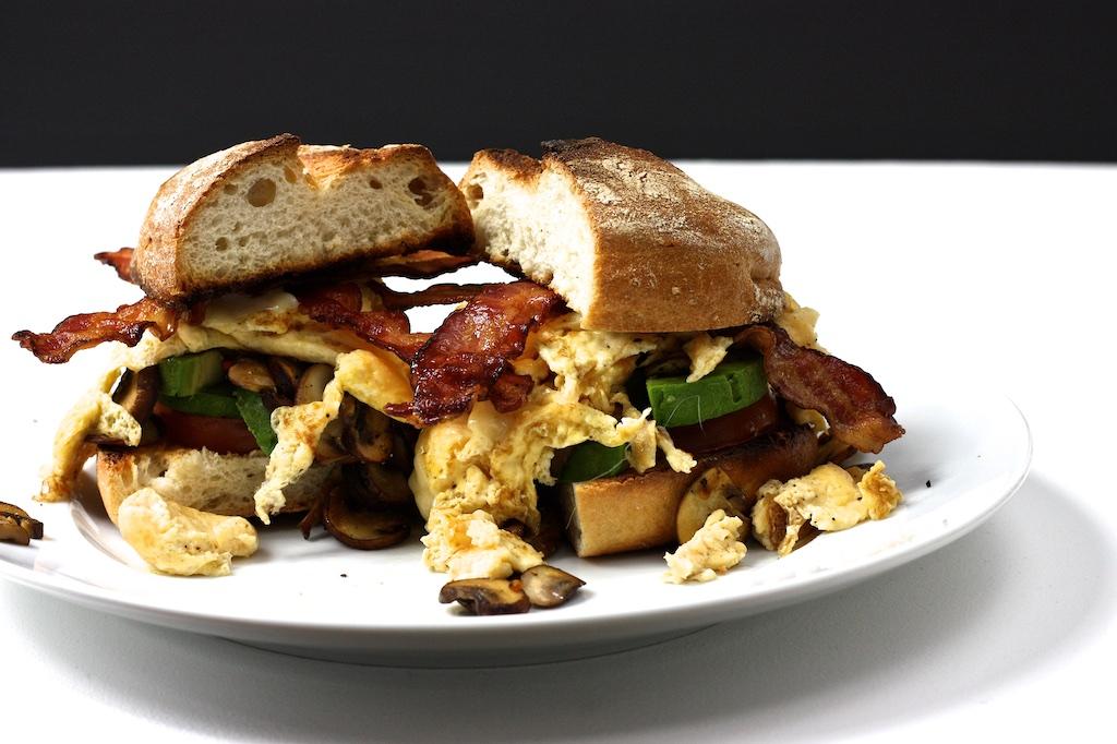 Der ultimative Frühstücksburger