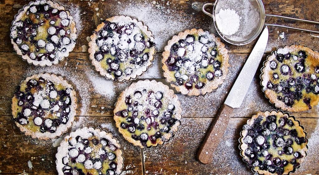 Heidelbeer-Tartelettes