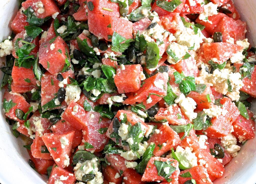 Wassermelonensalat5