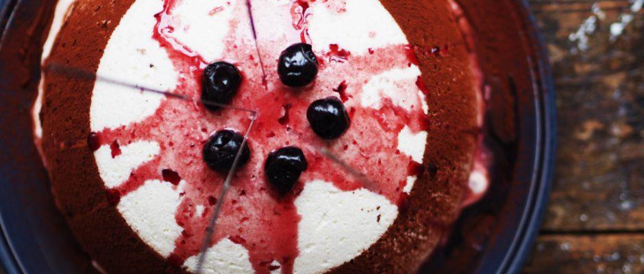 Eine bombige Schwarzwälderkirsch-Torte.