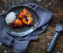 Galette mit Aprikosen und Blaubeeren