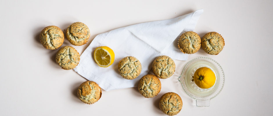Zitronen-Mohn-Muffin-Tasting I.