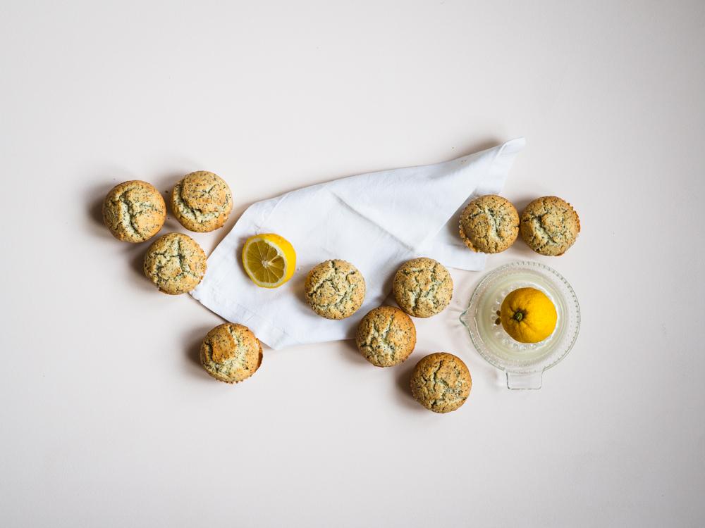 Lemon-Poppyseed Muffin nach Martha Stewart