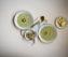 Brokkolisuppe mit karamellisierter Birne und Stilton