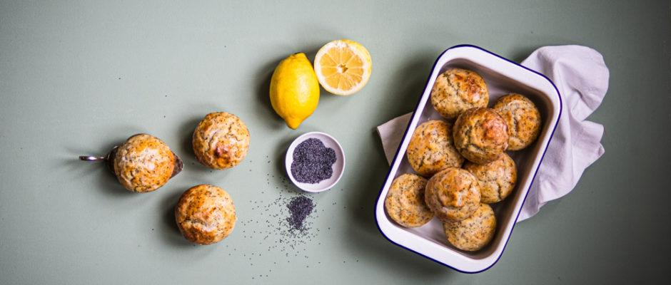 Zitronen-Mohn-Muffin Tasting IV.